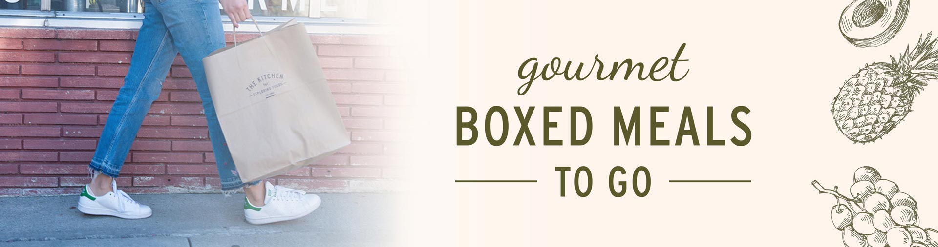 Gourmet To Go Boxed Meals